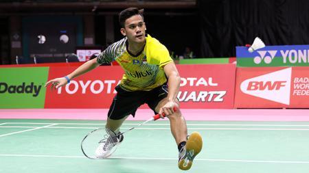 Firman Abdul Kholik melaju ke babak semifinal Turnamen BWF Akita Masters 2019. - INDOSPORT