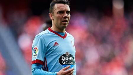 Iago Aspas, striker Celta Vigo sementara ini berstatus top skor La Liga Spanyol 2018/19. - INDOSPORT