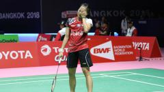 Indosport - Fitriani, pebulutangkis tunggal putri Indonesia.