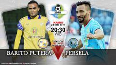 Indosport - Barito Putera vs Persela Lamongan
