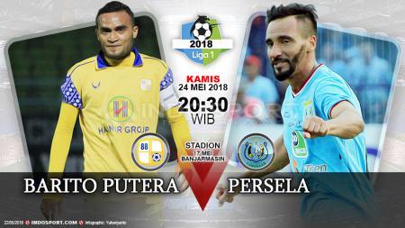 Barito Putera vs Persela Lamongan - INDOSPORT