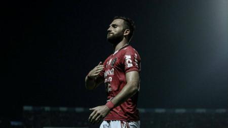 Striker Bali United, Ilija Spasojevic, diincar PSM Makassar. - INDOSPORT