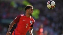 Indosport - Kyle Walker, bek Inggris di Piala Dunia 2018.