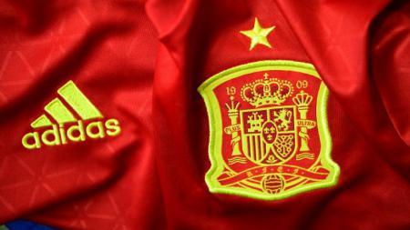 Jersey Timnas Spanyol. - INDOSPORT