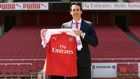 Manajer Arsenal Unai Emery. - INDOSPORT