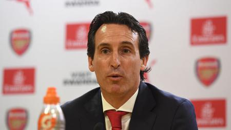 Manajer Arsenal, Unai Emery. - INDOSPORT