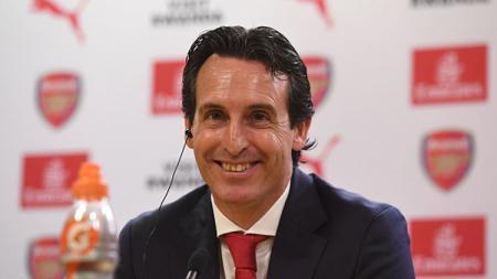 Unai Emery telah membawa Arsenal menang beruntung di 11 pertandingan. - INDOSPORT