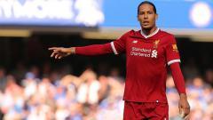 Indosport - Virgil van Dijk, bek tengah Liverpool.