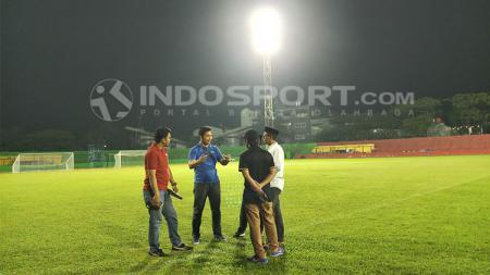 Markas PSM Makassar yakni Stadion Andi Matalatta saat ini sedang ramai menjadi bahan perbincangan karena tiba-tiba berubah menjadi kebun sayur. - INDOSPORT