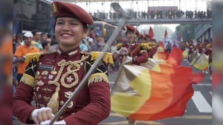 Parade Asian Games 2018. - INDOSPORT