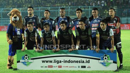 Skuat Arema FC - INDOSPORT