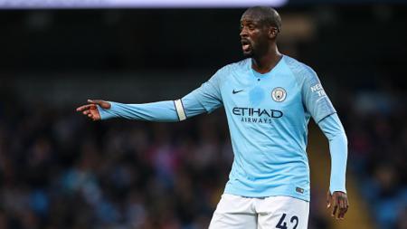 Pemain Manchester City, Yaya Toure. - INDOSPORT