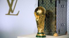 Indosport - Trofi Piala Dunia