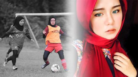 Nur Indah, pesepakbola cantik asal Malaysia - INDOSPORT
