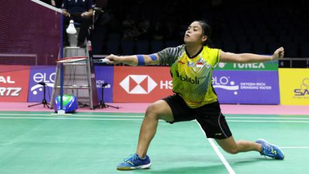 Nasib kurang beruntung harus dialami oleh salah satu pebulutangkis tunggal putri Indonesia, yakni Gregoria Mariska Tunjung di sepanjang tahun 2019. - INDOSPORT