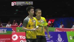 Indosport - Kevin Sanjaya/Marcus Gideon Feraldi