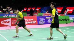 Indosport - Kevin Sanjaya/Marcus Gideon