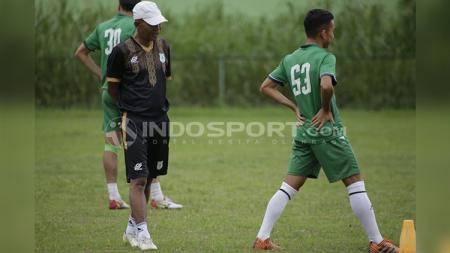 suasana latihan PSMS Medan - INDOSPORT