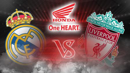Real Madrid vs Liverpool. - INDOSPORT