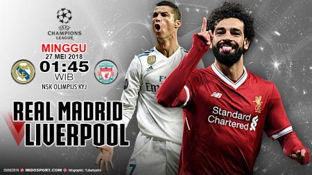 Prediksi Real Madrid vs Liverpool - INDOSPORT