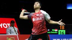 Indosport - Anthony Sinisuka Ginting.