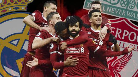 Skuat Liverpool vs Real Madrid. - INDOSPORT