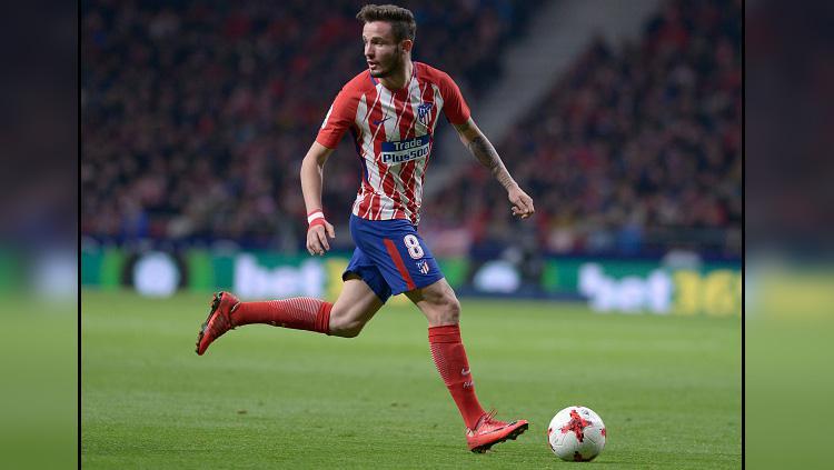 Saul Niguez, gelandang serang Atletico Madrid. Copyright: Getty Image