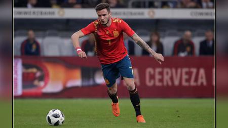 Saul Niguez, gelandang serang Atletico Madrid dn Timnas Spanyol. - INDOSPORT