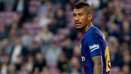 Paulinho, gelandang serang Barcelona. - INDOSPORT