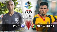 Indosport - PSIS Vs Mitra Kukar
