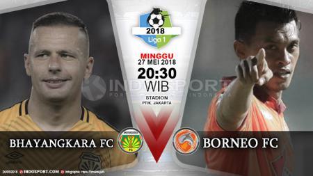 Bhayangkara FC vs Borneo FC - INDOSPORT