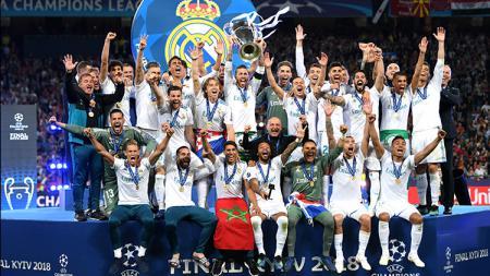 Real Madrid merayakan gelar Liga Champions yang ke-13 - INDOSPORT