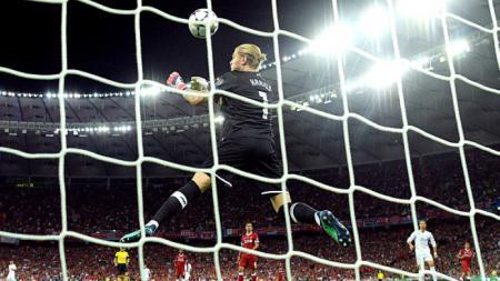 Loris Karius pernah bermain untuk Manchester City namun gagal bersinar. - INDOSPORT