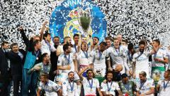 Indosport - Real Madrid menjuarai Liga Champions.