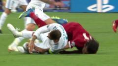 Indosport - Mohamed Salah dan Sergio Ramos.