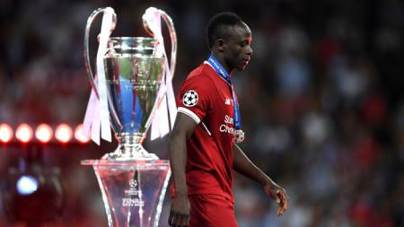 Sadio Mane saat final Liga Champions musim 2017/18, Liverpool vs Real Madrid. - INDOSPORT