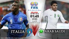 Indosport - Italia vs Arab Saudi