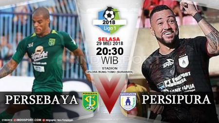 Persebaya vs Persipura - INDOSPORT
