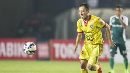 Yoo Hyun Koo, salah satu pemain asing di Sriwijaya FC. - INDOSPORT