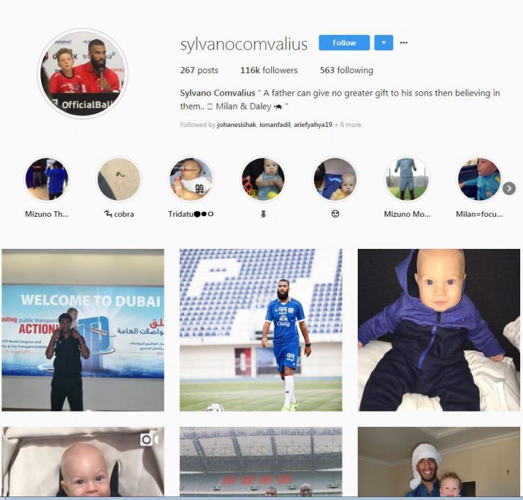 Instagram Sylvano Comvalius Copyright: Instagram