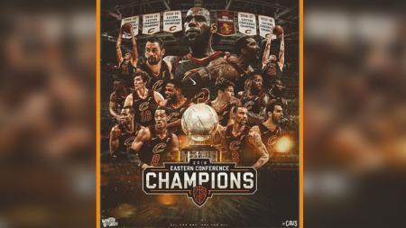 Cleveland Cavaliers, juara NBA Wilayah Timur 2018. - INDOSPORT