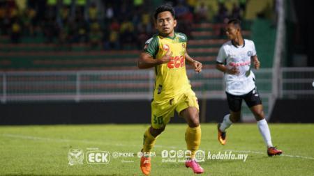 Pemain Kedah FA Andik Vermansah. - INDOSPORT