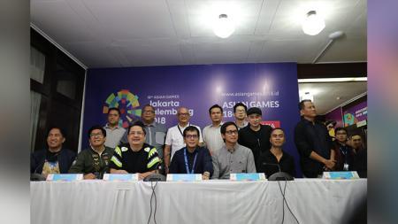 Persiapan Pembukaan Asian Games 2018 - INDOSPORT