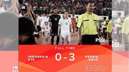 Persis Solo vs Timnas U-19 - INDOSPORT