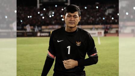 Muhammad Riyandi, kiper Timnas Indonesia U-19. - INDOSPORT
