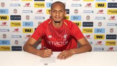 Indosport - Fabinho resmi bergabung dengan Liverpool.