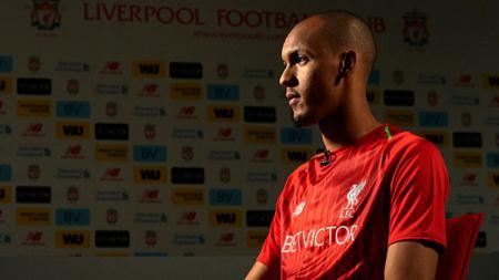 Pemain sepak bola Liverpool, Fabinho, kabarnya bakal pindah ke Real Madrid pada bursa transfer musim panas 2019. - INDOSPORT