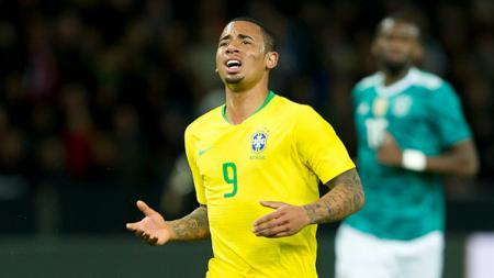 Gabriel Jesus, salah satu pemain muda yang akan bermain di Piala Dunia 2018. - INDOSPORT