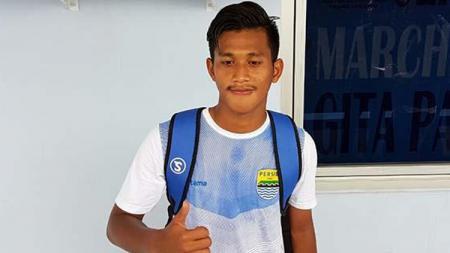 Indra Mustafa, pemain muda Persib Bandung. - INDOSPORT