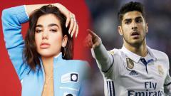 Indosport - Dua Lipa dan Marco Asensio